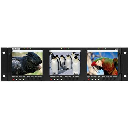 Marshall V RP Triple Professional Rack Mounted LCD Panel 246 - 443