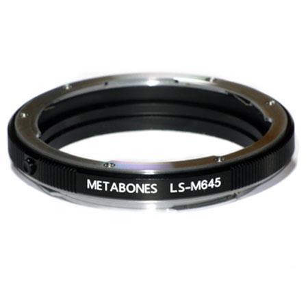 Metabones Mamiya Lens to Leica S Adapter 62 - 43