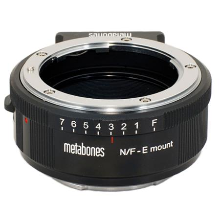 Metabones Nikon Mount Lens to Sony E mount NEX Camera Lens Mount Adapter Matte 121 - 439