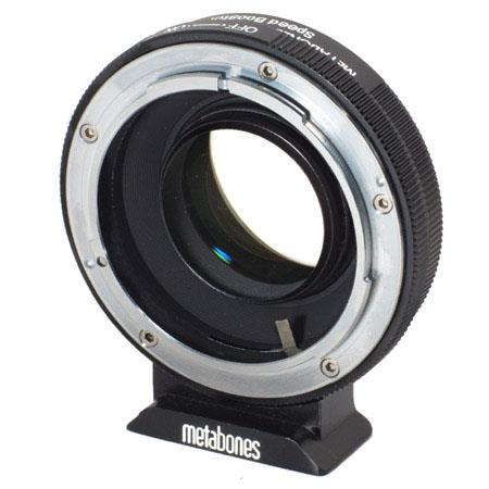 Metabones Canon FD to Fuji Speed Booster Matte Black 133 - 307