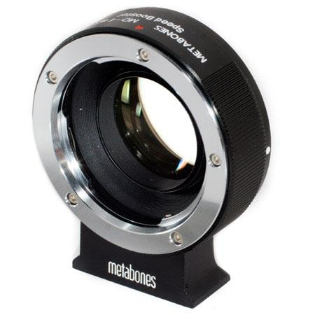 Metabones Minolta MD Lens to Sony NEX Speed Booster Matte Black 61 - 673