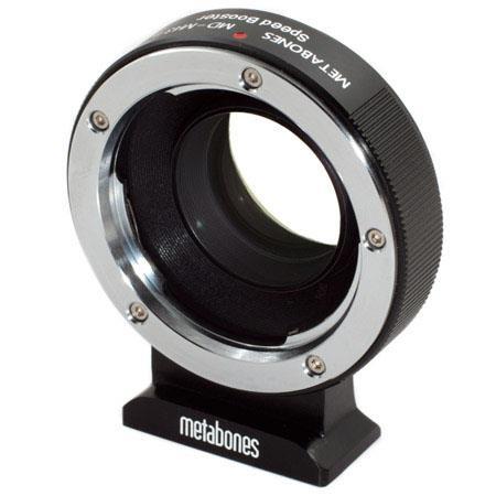 Metabones Minolta MD to Micro Speed Booster Matte Black 225 - 768