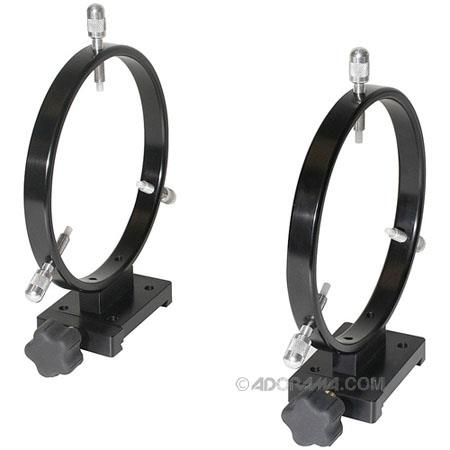 Meade Mounting Ring Set Quick AdjustLock Bases and Point Adjustment Screws Delrin Tips 120 - 294