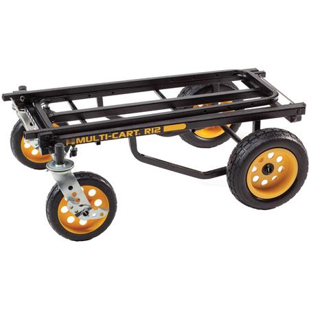 Rock N Roller MultiCart All Terrain Transporter Molded Rear Wheels Load capacity lbs cu 117 - 179