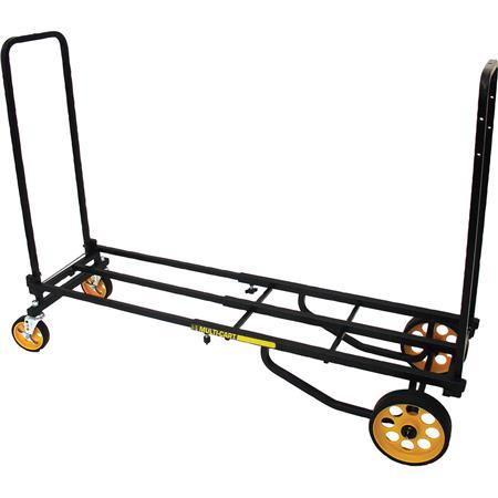 Rock N Roller MultiCart Mid Transporter Molded Rear Wheels Load capacity lbs cu 214 - 703