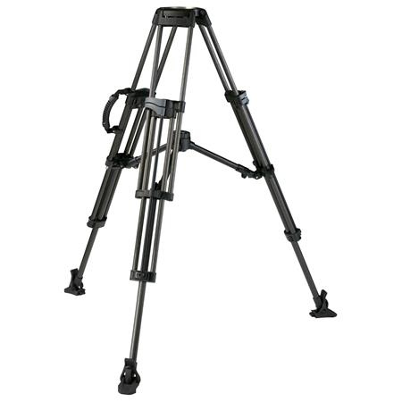Miller Sprinter Carbon Fiber Stage Tripod Legs Bowl MaHeight Supports lbs 88 - 539