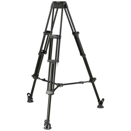 Miller DS Stage Aluminum Alloy Tripod Legs Bowl MaHeight Supports lbs 9 - 571
