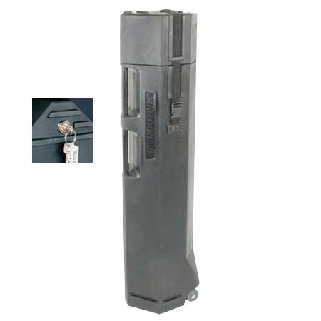 Nalpak Hard Plastic Tripod Case Lock Wheels Tuffpak Diameter Long Video Tripods 188 - 11
