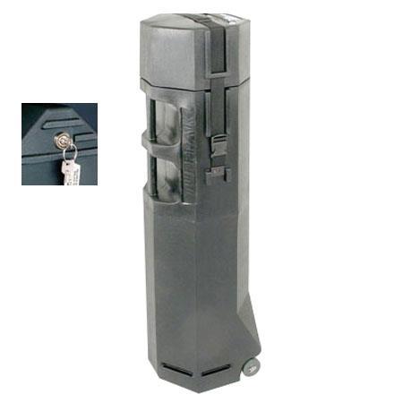 Nalpak Hard Plastic Tripod Case Lock Wheels Tuffpak Diameter Long Video Tripods 96 - 495