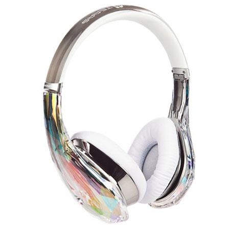 Monster Diamond Tears Edge On Ear Headphones Crystal 208 - 588