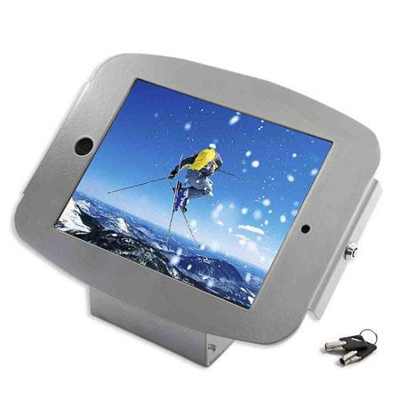 Maclocks Space iPad Mini Enclosure Kiosk Silver 134 - 158