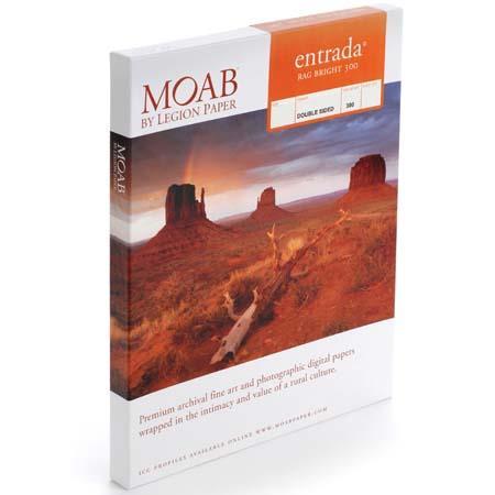 Moab Entrada Fine Art Side Bright Matte Inkjet Paper mil gsmSheets 180 - 3