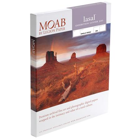 Moab Lasal Exhibition Luster gsm Inkjet PaperSheets 312 - 107
