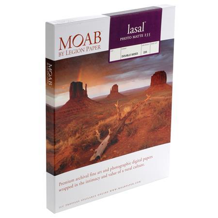 Moab Lasal Photo Matte gsm Inkjet PaperSheets 31 - 414