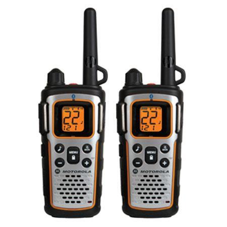 Motorola Talkabout MUR Series Mile Range Channel Two Way Radio NOAA Push to Talk VOXiVOX Hands Free  125 - 66