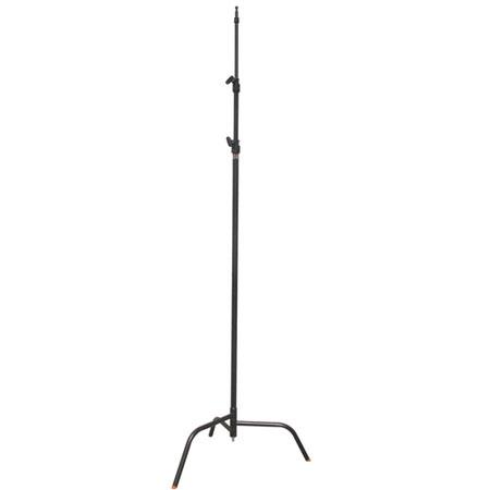 Matthews Century C Stand Double Riser Stand Spring Loaded Base Supports lbs Maximum Height Chrome 185 - 443