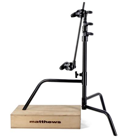 Matthews Hollywood C Stand Sliding Leg Grip Head and Arm Load Capacity lbs Maximum Height  213 - 81