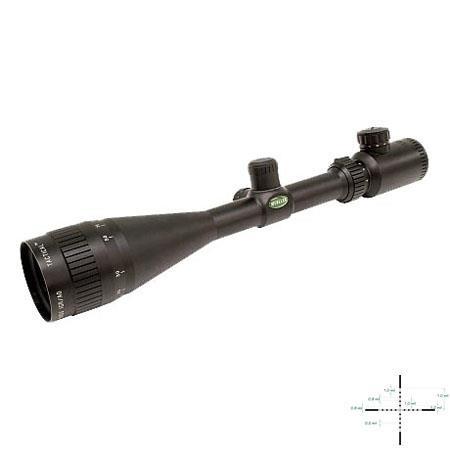 Mueller Opticsmm Tactical Series Rifle Scope Matte Illuminated Mil Dot Reticle Adjustable Objective 93 - 405