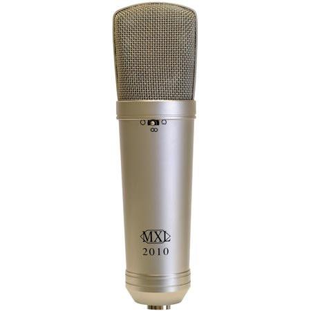 MXL Multi Pattern Selectable Omni directional Cardioid Figure Studio Condenser Microphone 65 - 147