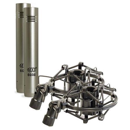 MXL Instrument Condenser Microphones Shock Mounts Pair 54 - 714