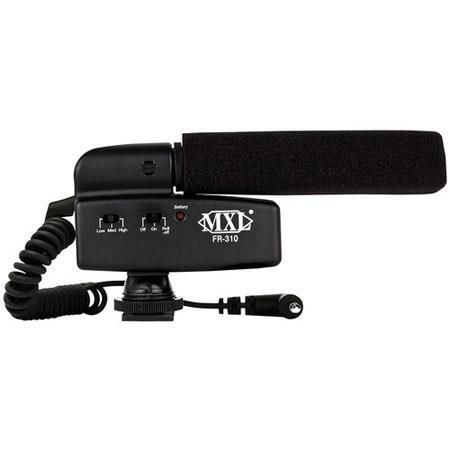 MXL FR Hot Shoe Shotgun Microphone DSLR Camera 63 - 218