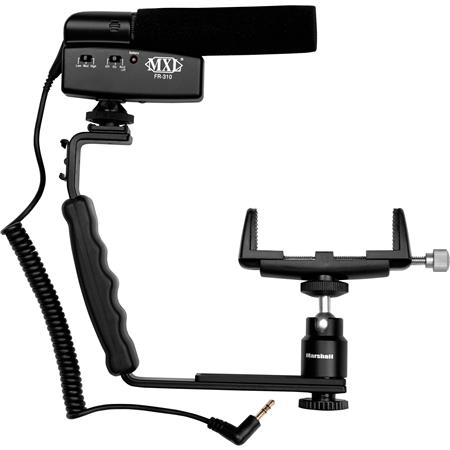 MXL MM VE Mobile Media Videographers Essentials Kit Includes FR Shotgun Microphone Bracket Mobile Ph 49 - 173