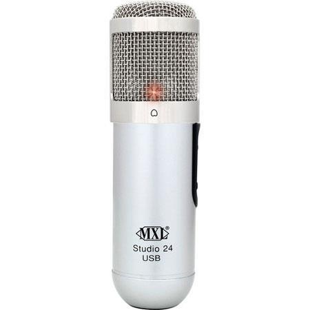 MXL Studio Bit USB Microphone Condenser Capsule Gold sputtered diaphragm 100 - 670