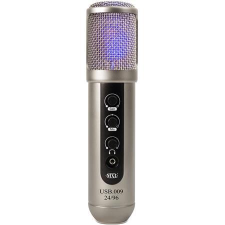 MXL USB bitkHz StudioBroadcast USB Microphone 114 - 764