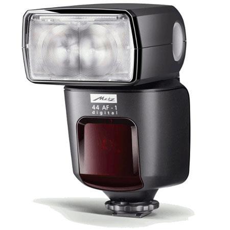 Metz AF Flash Nikon Fujifilm Cameras Guide Number at the Setting 129 - 201