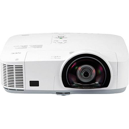 NEC NP MWS Lumens Widescreen Short Throw Projector Contrast Ratio LCD Display WXGAResolution 44 - 124
