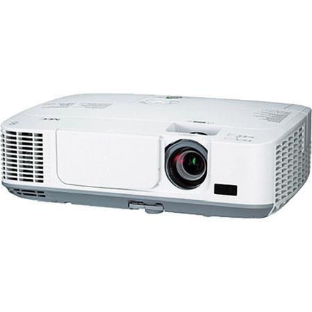 NEC NP MW Lumen Widescreen Portable ProjectorWXGA Resolution Contrast Ratio Hours Lamp Life 223 - 252