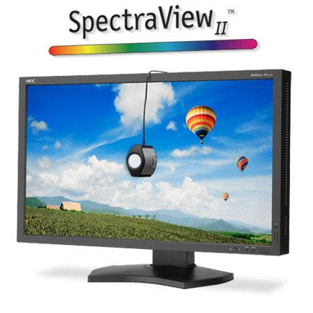 NEC MultiSync PAW BK SVLED Backlit LCD Desktop Monitor SpectraViewII Aspect Ratio Contrast Ratio cdm 242 - 307