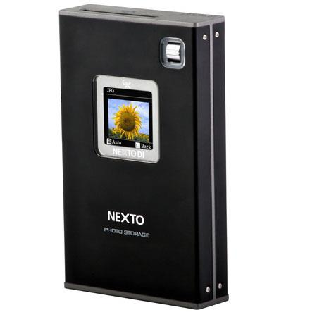 Nexto DI ND Digital Photo Storage GB HDD USB and FireWire Interface Color LCD Display Built Recharge 39 - 262