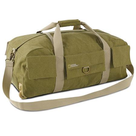 National Geographic Earth Explorer Duffel Bag Wheels and DSLR Insert 118 - 510