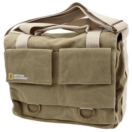National Geographic Earth Explorer Medium Shoulder Bag Removable Camera Insert 89 - 358