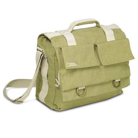 National Geographic Earth Explorer Large Shoulder Bag Personal Gear DSLR Laptop 82 - 788