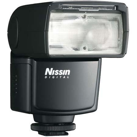 Nissin Di Shoe Mount Digital Flash Canon eTTL eTTL Guide Zoom Bounce Power Ratio Features Full Year  6 - 290
