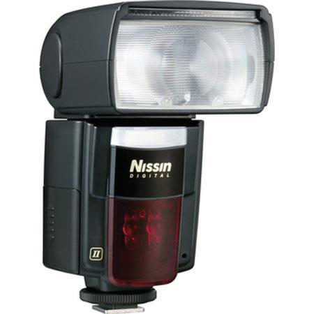Nissin DiII Digital Flash Nikon Digital SLR CoolpiHotshoe Cameras Guide Zoom Bounce Power Ratio Feat 38 - 640