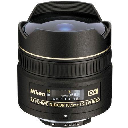 Nikon fG ED IF AF DX Fisheye Nikkor Lens FDSLR Cameras Nikon USA Warranty 146 - 40