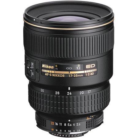 Nikon fD ED IF AF S Super Wide Angle Zoom Nikkor Lens Grey Market 242 - 662