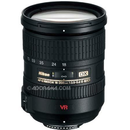 Nikon f G ED IF AF S DX VR Nikkor Lens Refurbished Nikon USA 186 - 182