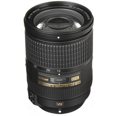 Nikon f G ED IF AF S DX VR Lens Nikon USA Warranty 120 - 443