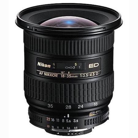 Nikon f D ED IF AF Wide Angle Nikkor Zoom Lens Grey Market 159 - 754