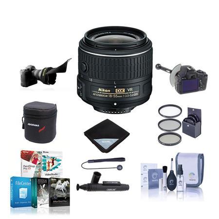 Nikon f G AF S DX VR Lens USA Bundle MC Filter Kit Cleaning Kit Capleash II Slinger Neoprene Lens Po 139 - 191