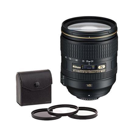 Nikon fG ED IF AF S VR Nikkor Lens Nikon USA Warranty Free Ultra Violet UV Filter Circular Polarizer 249 - 213