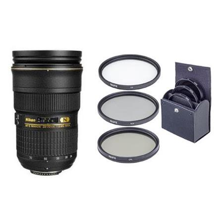 Nikon fG ED IF AF S Zoom Nikkor Lens Nikon USA Warranty Free Pro Circular Polarizer CPL Digital Filt 117 - 518