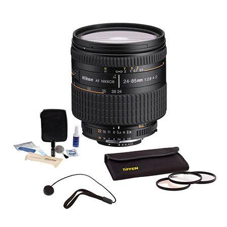 Nikon f IF AF D Nikkor Lens Nikon USA Warranty Accessory Kit Tiffen Photo Essentials Filter Kit Lens 163 - 226
