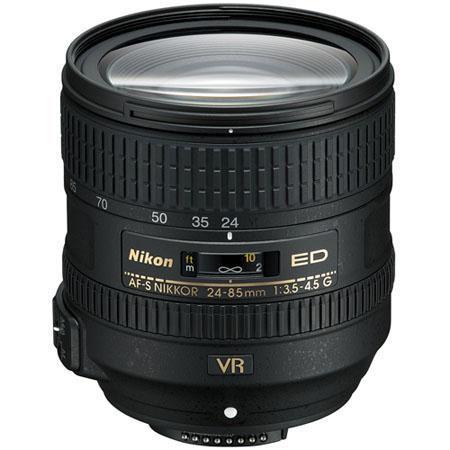Nikon f G ED AF S VR Nikkor Lens Refurbished Nikon USA 127 - 236