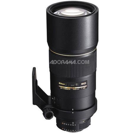 Nikon f ED IF AF S Nikkor Lens Built Hood Detachable Tripod Mount Grey Market 78 - 310