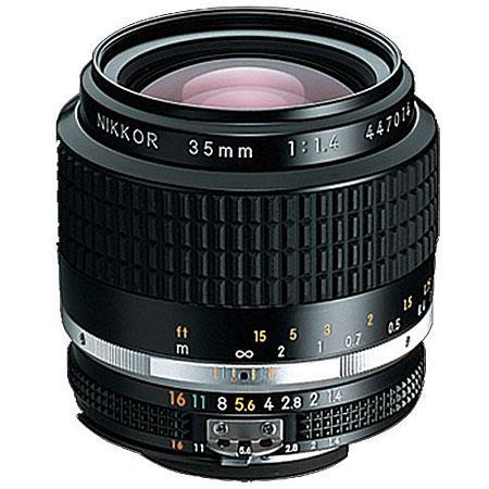 Nikon f Nikkor Ai Wide Angle Manual Focus Lens 223 - 252